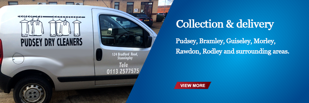 Collection & delivery Pudsey, Bramley, Guiseley Morley, Rawdon, Roday, and surrounding area